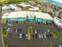 An aerial view of the Horsford Commercial Complex on Wellington Road, Basseterre, St. Kitts. (photo courtesy of the S.L. Horsford & Co. Ltd