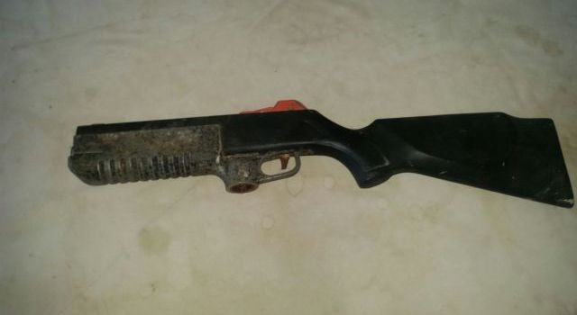 Fake Shot-gun found on Saturday August 20