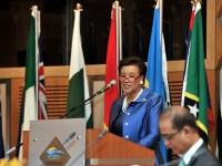 PUTRAJAYA, 17 Ogos -- Ketua Setiausaha Komanwel, Patricia Scotland menyampaikan ucapan pembukaan pada 'The 6th Commonwealth Ministers For Public Service Biennial Meeting' pada Persidangan Dwi Tahunan Pertubuhan Komanwel bagi Pentadbiran Awam dan Pengurusan (CAPAM) di Pusat Konvensyen Antarabangsa Putrajaya (PICC) hari ini. --fotoBERNAMA (2016) HAK CIPTA TERPELIHARA
