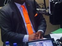 The Prime Minister's conversation with radio host Mr. Newrish Nital is in progress on WINN FM 98.9.