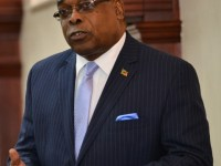 The Honourable Ian Patches Liburd, Minister of Posts