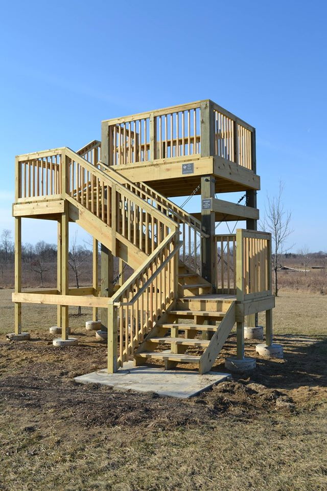Observation Tower completed by Koby Paul