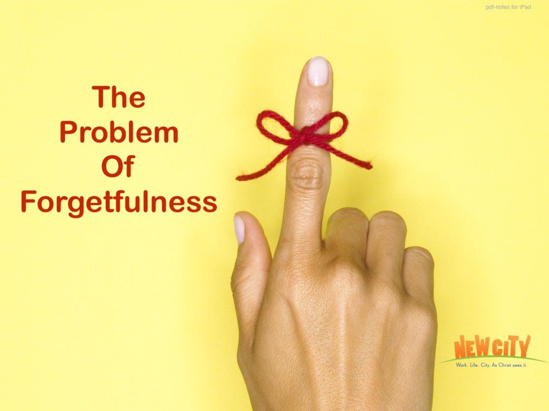 The Problem Of Forgetfulness Image