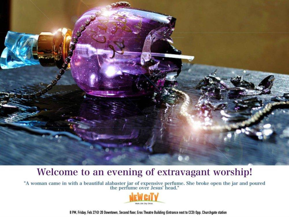 Worship: Alabaster Jar - Ben Mathew  Image