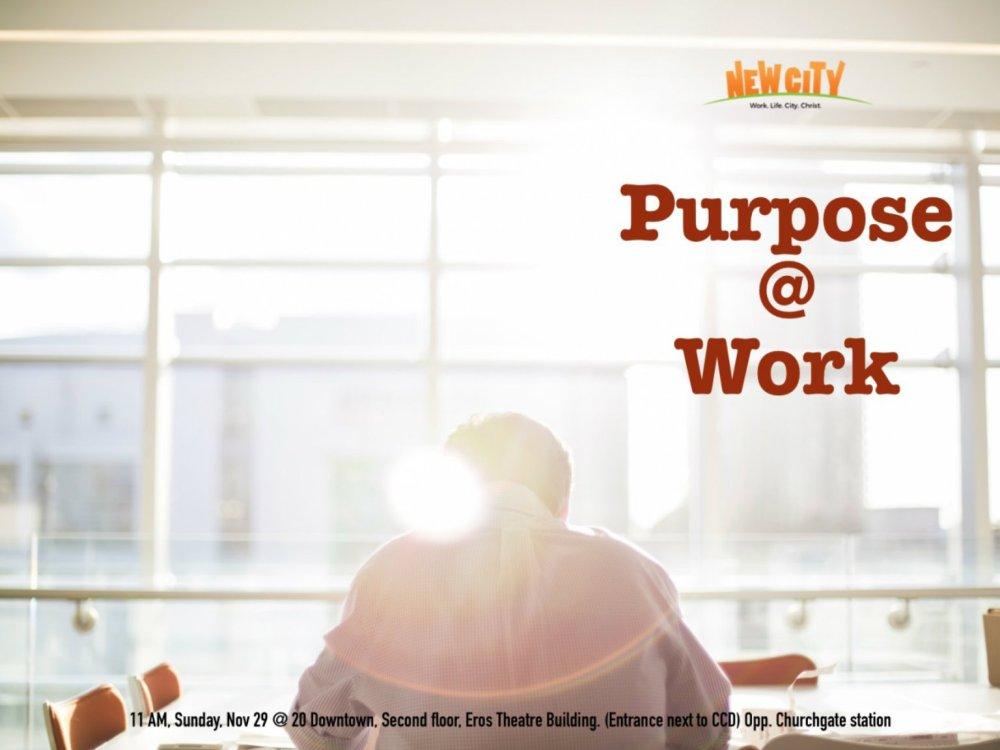Purpose at Work Image