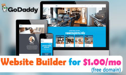 GoDaddy Website Builder Promo Codes