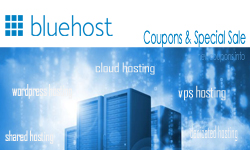 BlueHost coupon 63% off for August 2016 !