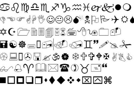 Map Symbol Fonts