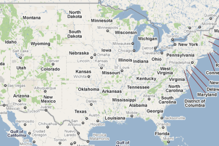 interactive google map usa gallery