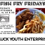 Fish Fry Fridays - Sept