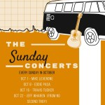 Sunday Concert Schedule