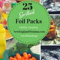 F is for Foil Dinner Packets on the Grill