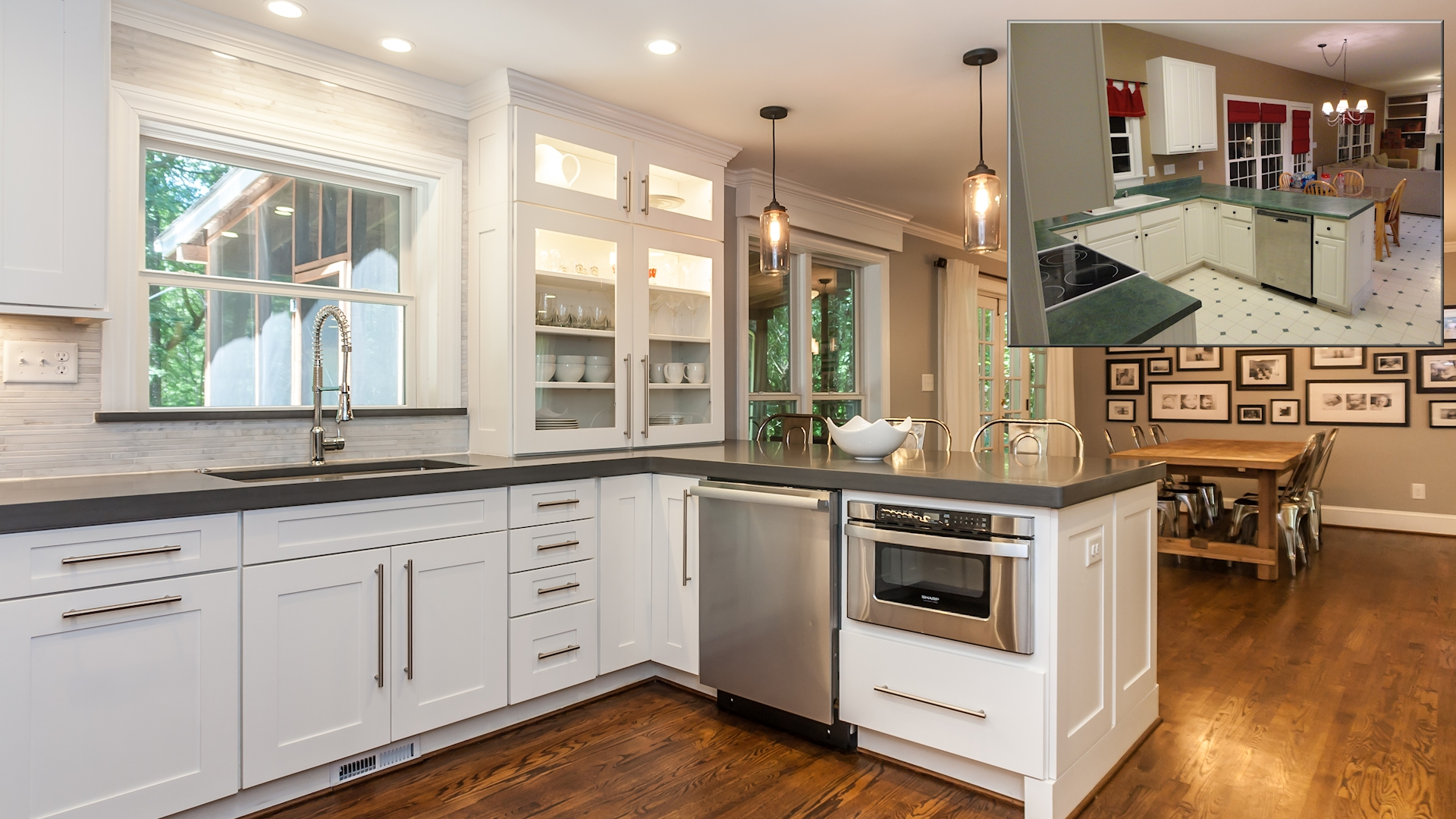 home remodeling making great kitchen remodelers Before After Photos of a Kitchen Renovation New Homes Ideas