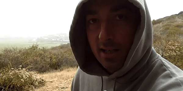 Sandro Marino on a Morning Hike