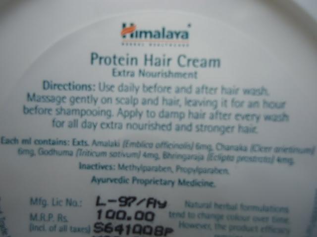 Himalaya Protein Hair Cream Review