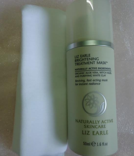 Liz Earle Brightening Treatment Mask Review