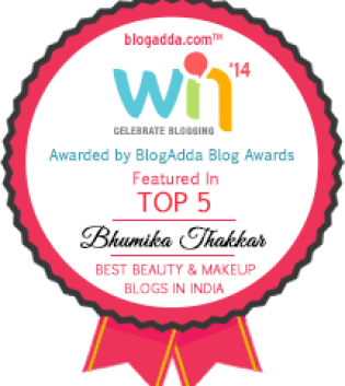 bhumika-thakkar- New Love Makeup- Top 5 Beauty Blogs in India