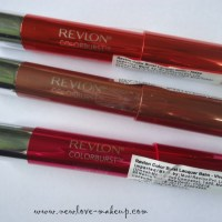 Revlon ColorBurst Lacquer Balms Review, Swatches