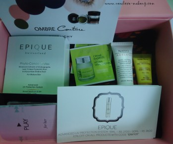 August My Envy Box Review, Indian Makeup and Beauty Blog
