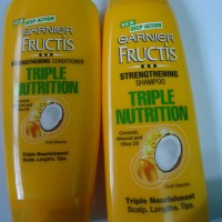 Garnier Fructis Triple Nutrition Shampoo,Conditioner Review