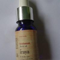 Iraya Kumkumadi Tailam (Facial Oil) Review