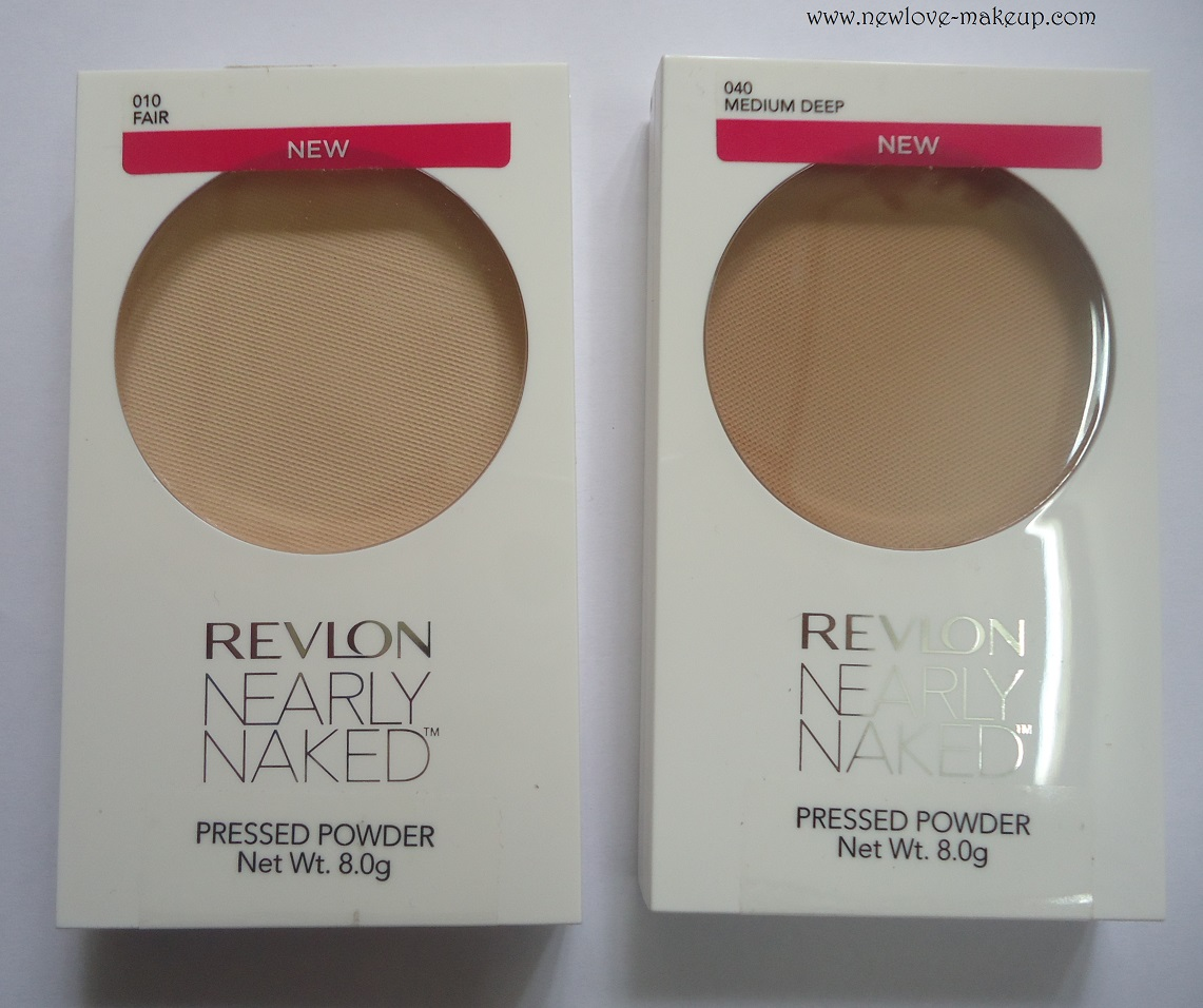Buy Revlon Compact Nearly Naked Pressed Powder, Medium(8g