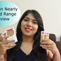 Revlon Nearly Naked Makeup & Pressed Powder Review,Swatches,Demo