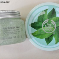 The Body Shop Fuji Green Tea Body Scrub, Body Butter Review