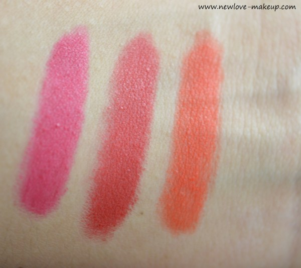 Lakme Absolute Matte Lip Pouts Review, Swatches, Indian Makeup Blog