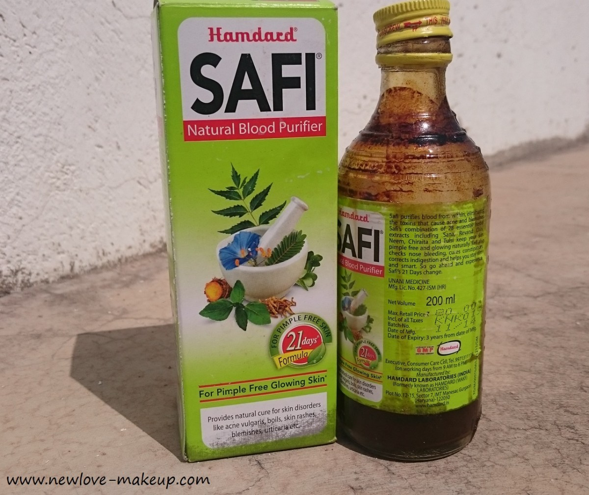 Hamdard Safi Natural Blood Purifier Review