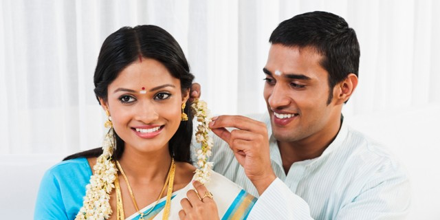 arranged marriage couple