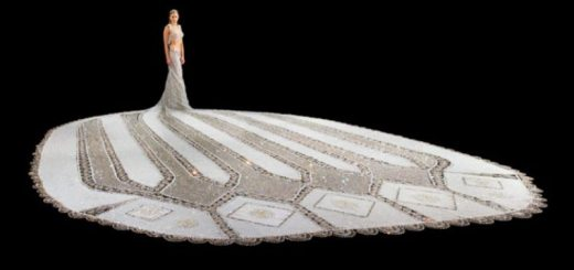 fantasy, the 170 kilogram wedding dress