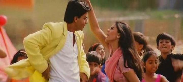 Shahrukh Khan and Kajol in Kuch Kuch Hota
