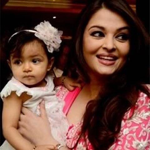 Aishwarya with daughter Aaradhya