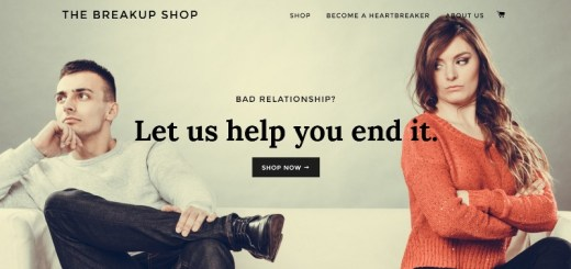the breakup shop home page_New_Love_Times