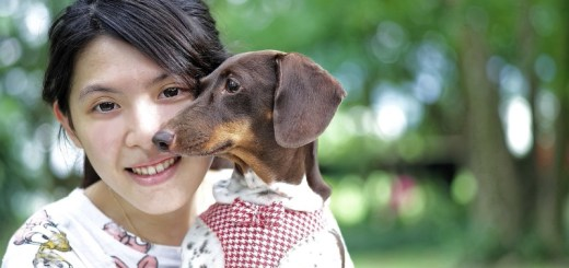 woman with her puppy_New_Love_Times