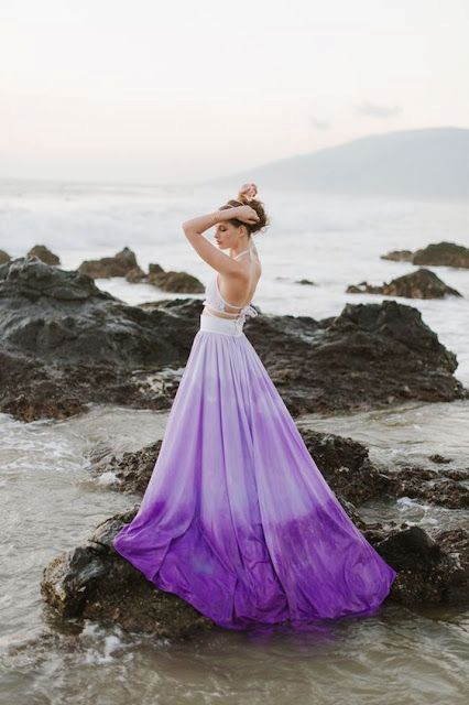 20 Gorgeous Dip Dye Wedding Dresses Youve EVER Seen