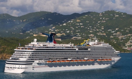 Carnival Dream arrived Tuesday, Jan.5, 2010 at St. Thomas, US Virgin Islands. Photo by Andy Newman.