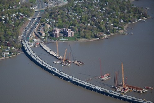 May 2014 - Aerial View of the Rockland Landing