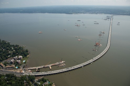 August 2014 - Aerial view from Rockland