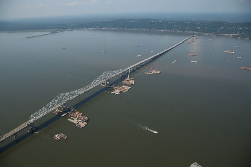 August 2014 - Main Span and Rockland Approach