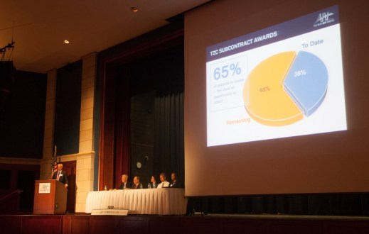 March 2014 - Team members present project updates at Westchester 2014 Annual Public Meeting