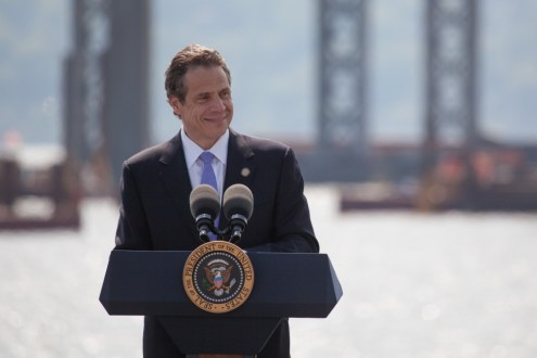May 14, 2014 - Governor Cuomo speaking to community leaders and local residents.
