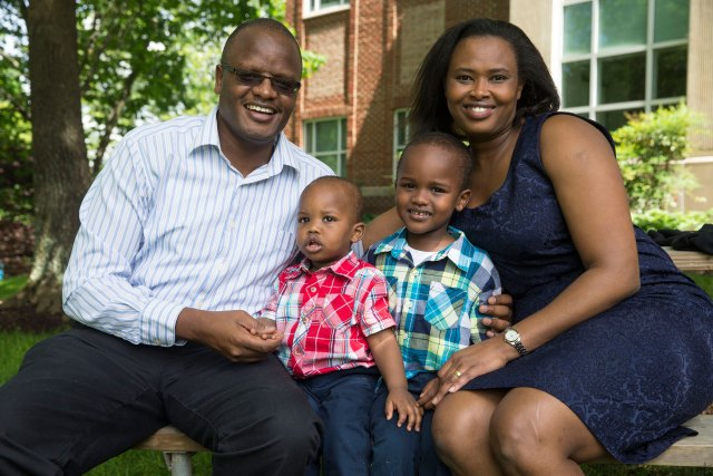 Pam Kimeto will leave UVA with a Ph.D., a new family and memories of the School of Nursing's caring community.