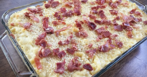 5-Cheese Mac with Crispy Prosciutto Recipe