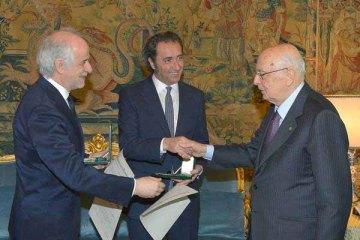 """Quirinale: da Napolitano Sorrentino e cast """"Grande bellezza"""""""