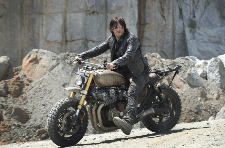 the ride with Norman Reedus