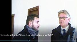 """L'Intervista video: """"Solidarietà e accoglienza per i nostri bambini"""". Remo Di Ianni sull'inaugurazione della nuova scuola di Cerro."""
