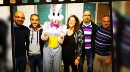 Cerro al Volturno: il Coniglio pasquale della Pro Loco Cerrese 1982 consegna oltre 30uova di Pasqua.