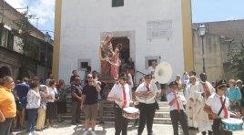 Colli e Selvone unite dal pellegrinaggio in onore di Sant'Anna. Ripetuti i solenni festeggiamenti.